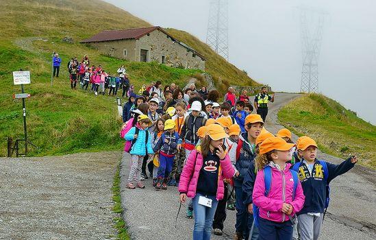 Studenti in montagna con Unicef e Cai