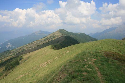 Giro ad anello Alpe Paglio, Cimone di Margno, Pian delle betulle
