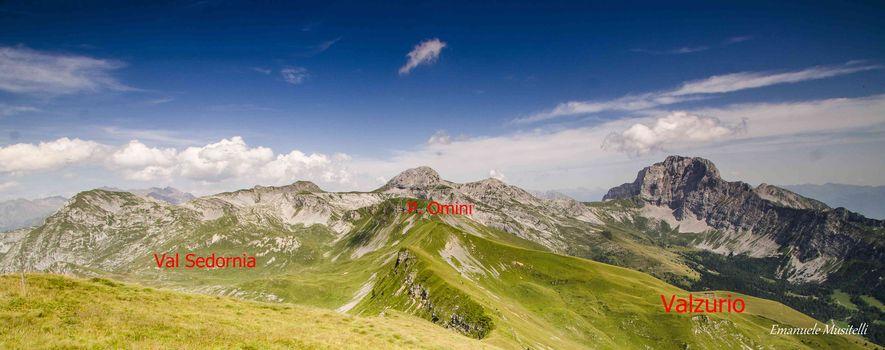 La dorsale della Val Sedornia 2°parte
