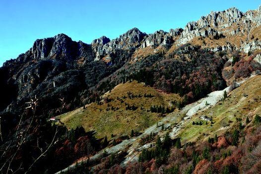 La selvaggia Val Vertova