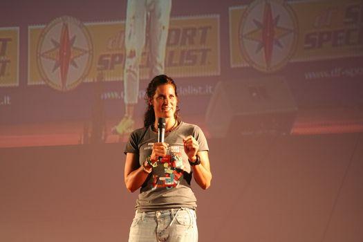 Tamara Lunger ha incantato il pubblico a Bevera di Sirtori