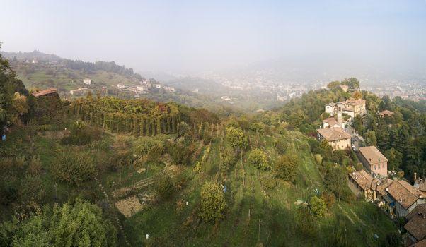 Gita al roccolo sui colli di Bergamo