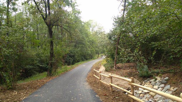 Parco dei Colli, un nuovo tratto di ciclabile