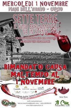 Sette Terre - il vino bergamasco va in scena