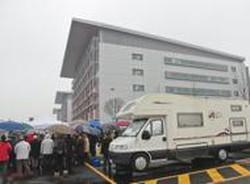 Area camper al nuovo Ospedale  4 piazzole nell'area per utenti protetti