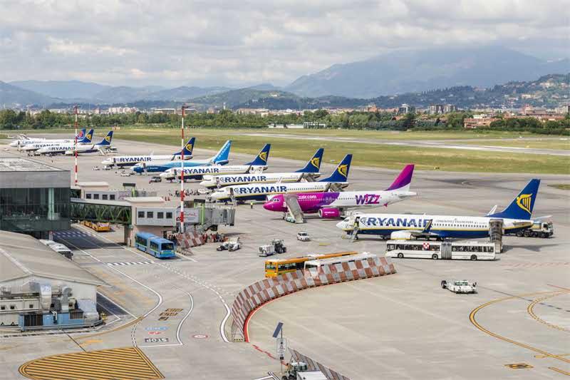 Aeroporto Bergamo : Nuovo concorso all aeroporto c è un viaggio attorno al
