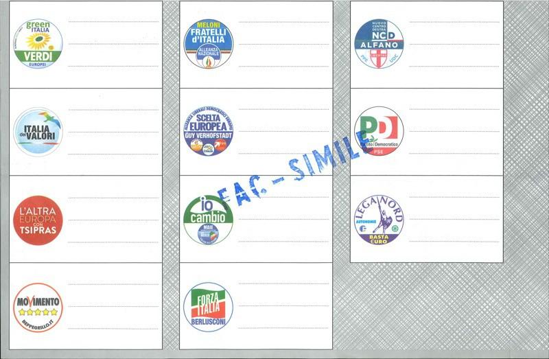 Domenica si vota ecco le schede in bergamasca urne per for Numero parlamentari italia
