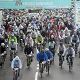 Granfondo Gimondi, tutti i divieti  Tanti   stop al traffico dalle 7 alle 15