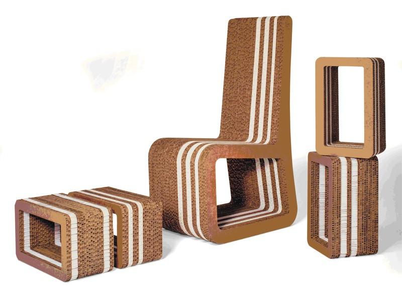 Da una serigrafia ai mobili eco ad albano si gioca con la - Mobili di carta ...