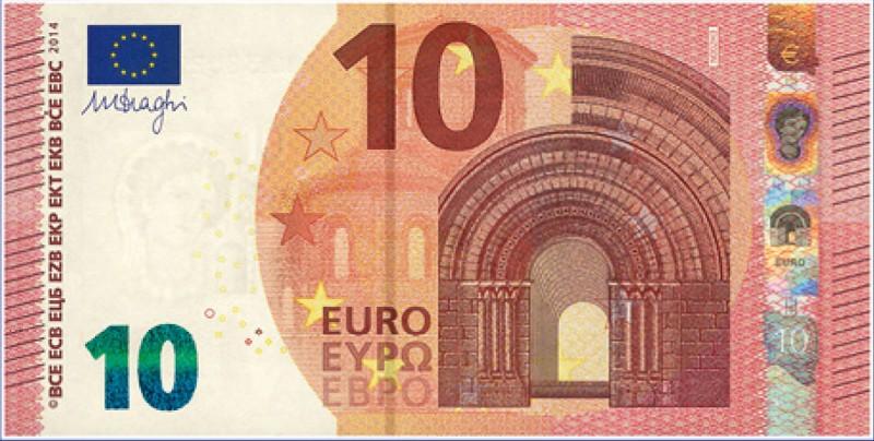 tutti i segreti dei nuovi 10 euro una banconota tutta da. Black Bedroom Furniture Sets. Home Design Ideas