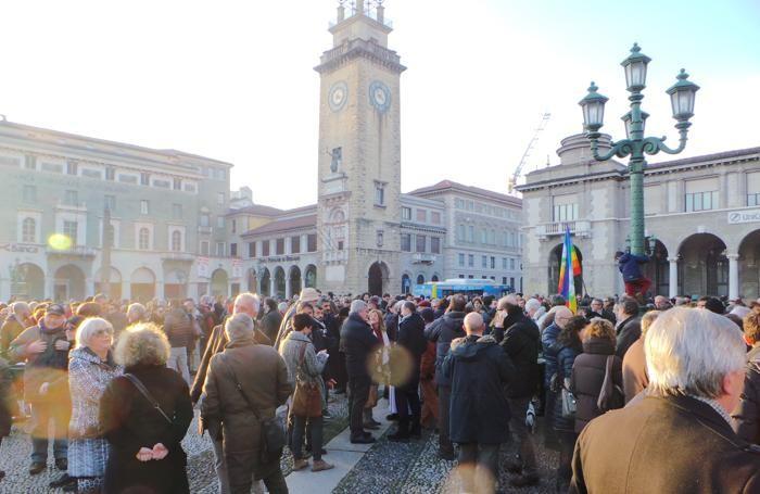 La manifestazione del 10 gennaio 2015