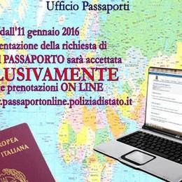 Dovete fare il passaporto? Addio file Dall'11 gennaio la domanda solo online