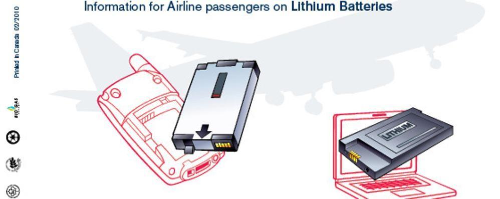 Pc e telefoni attenzione alle batterie cosa si pu - Easyjet cosa si puo portare in aereo ...