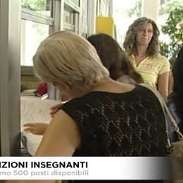 Assunzioni insegnanti. A Bergamo 500 posti disponibili.