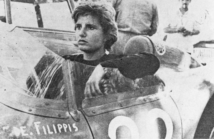 Maria Teresa De Filippis nel Gp di Portogallo del 1959