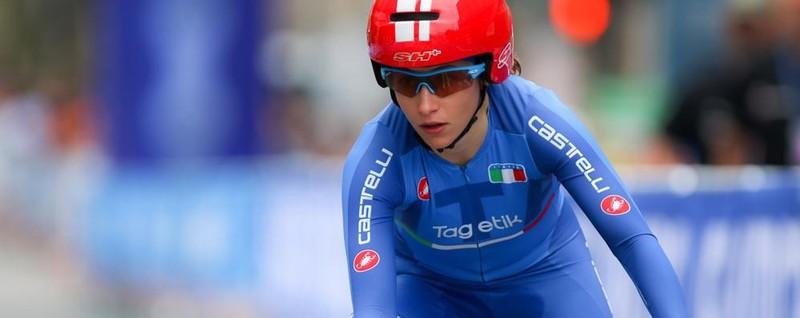 Mondiali di ciclismo, Bergamo vola Lisa Morzenti è argento nella crono
