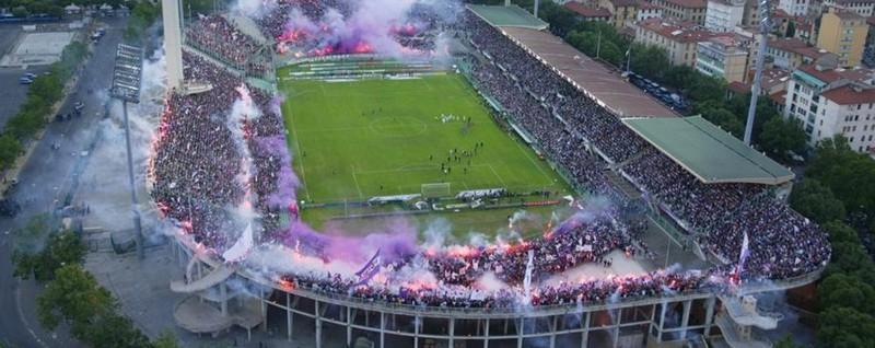 Auto sospetta prima di Fiorentina-Atalanta Allarme allo stadio, ma era solo in divieto