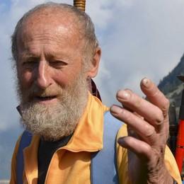 Veltroni, intervista a casa Curnis  L'alpinista: «Che dire? Negòt»