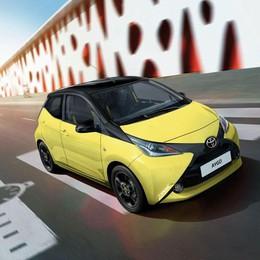 Nelle famiglia Toyota Aygo arriva la x-cite Yellow