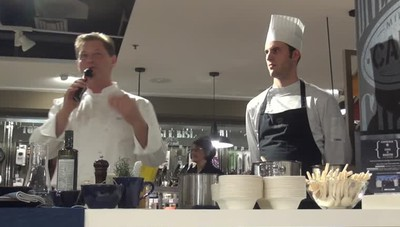 Show cooking di Cerea La cucina «Da Vittorio» al Coin