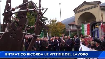 Entratico, la Val Cavallina ricorda i caduti sul lavoro