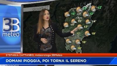 Meteo: domani pioggia, poi torna il sereno