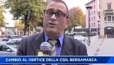 Gianni Peracchi nuovo segretario della Cgil