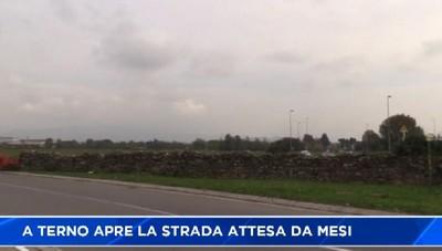 Terno d'Isola: riapre la strada che collega la zona Carvisi-Cabanetti alla provinciale. Trovato l'accordo fra i comini di Bonate sopra e Terno d'Isola