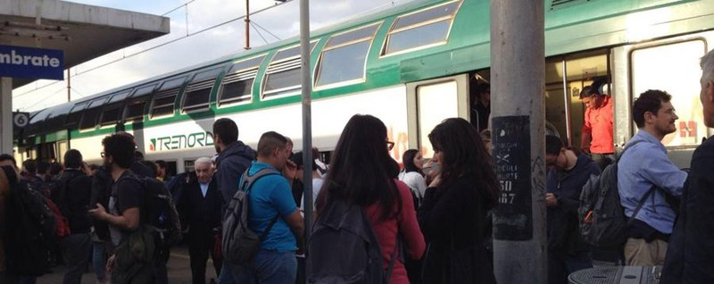 Treno delle 7.16 cancellato Disagi per i pendolari bergamaschi