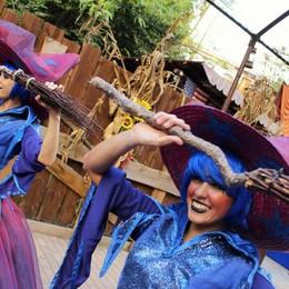Gardaland Magic Halloween La madrina è Federica Pellegrini