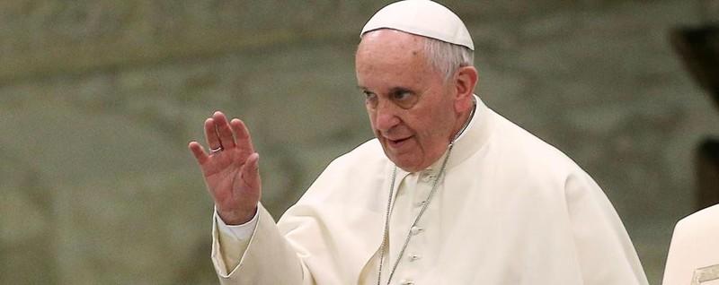 Papa Francesco in visita ad Amatrice Ha incontrato gli alunni della scuola