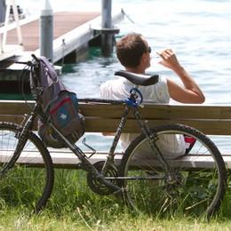 Sul lago d'Iseo sognando l'anello ciclabile Il presidente Maroni ha promesso i fondi