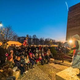 Bergamo, aspettando S.Lucia   Tra bancarelle, spettacoli e luci