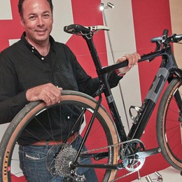 La più bella bici d'Europa? E' una «gravel» ideata a Brembate