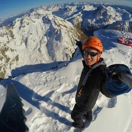 Volo in parapendio dal Pizzo Coca Impresa a 3 mila metri di quota - Video