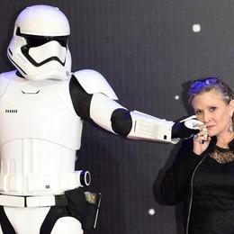 Il cinema piange Carrie Fisher Era la principessa Leila di Star Wars
