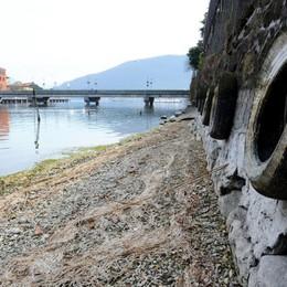 Lago d'Iseo in secca Mezzo metro sotto la media