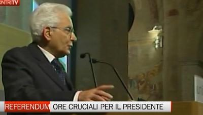 Dopo il referendum, ore cruciali per Mattarella