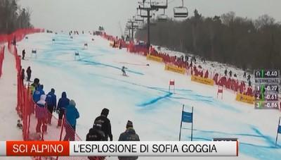 Sci, tre podi in otto giorni per Sofia Goggia