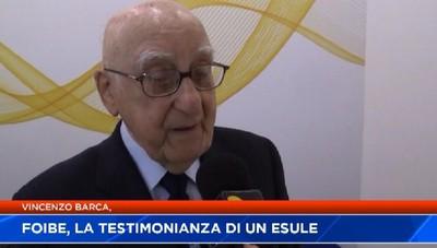 Foibe, la testimonianza dell'esule Vincenzo Barca