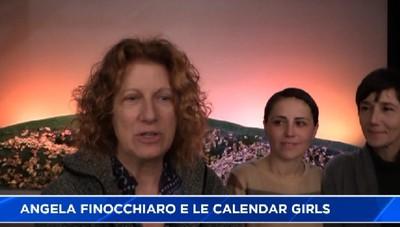 Nude per solidarietà, la Finocchiaro e le Calendar Girls
