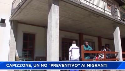 Il sindaco di Capizzone: Ai migranti dico no!