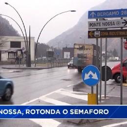 Ponte Nossa, all'incrocio sarà rotonda o semaforo