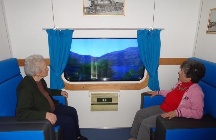 Risultati immagini per terapia del treno alzheimer