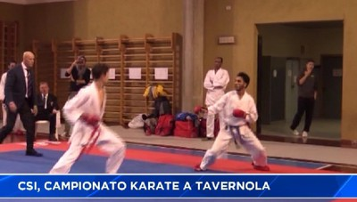 CSI: karate a Tavernola