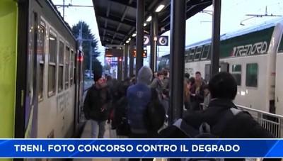 Treni, pendolari: concorso fotografico contro il degrado