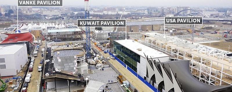 Il padiglione del kuwait a brembilla un pezzo di expo for Piani di progettazione del padiglione