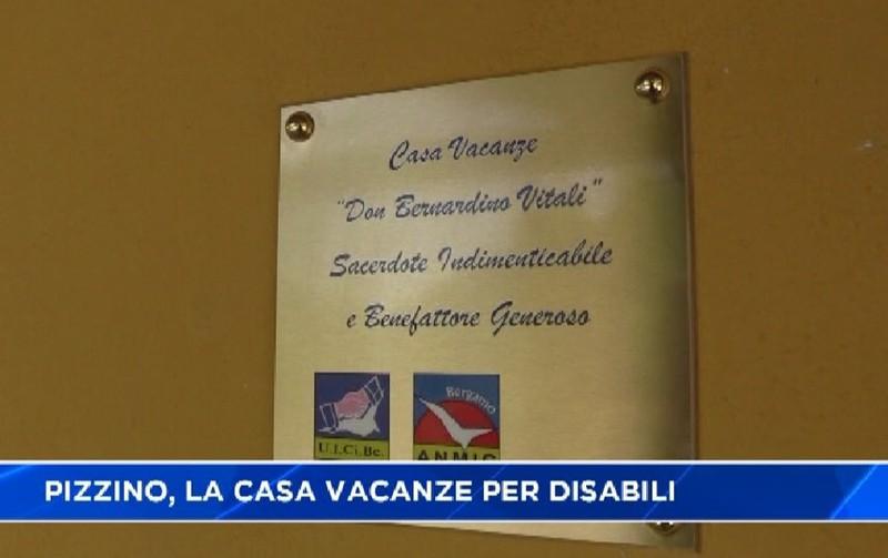 Pizzino inaugurata casa vacanze per disabili video taleggio for Piani casa accessibili per disabili
