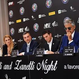Alfa Romeo con Zanetti e Bocelli Evento di solidarietà nell'area Expo