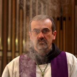 Padre Pizzaballa Grande Ufficiale «Un onore, ho servito la Chiesa»